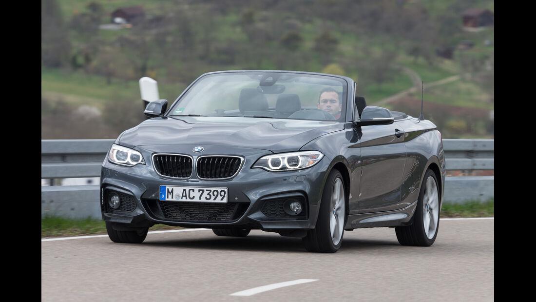BMW 220d Cabrio, Frontansicht