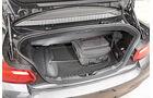 BMW 220d Cabrio, Kofferraum