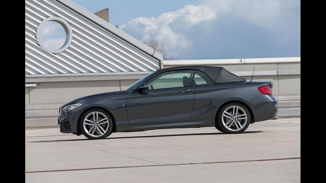 BMW 220d Cabrio, Seitenansicht