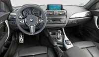 BMW 220d, Cockpit