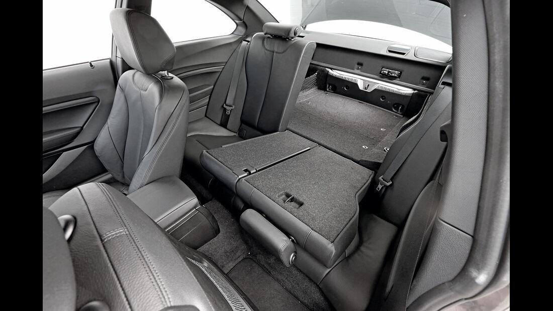 BMW 220d, Fondsitze