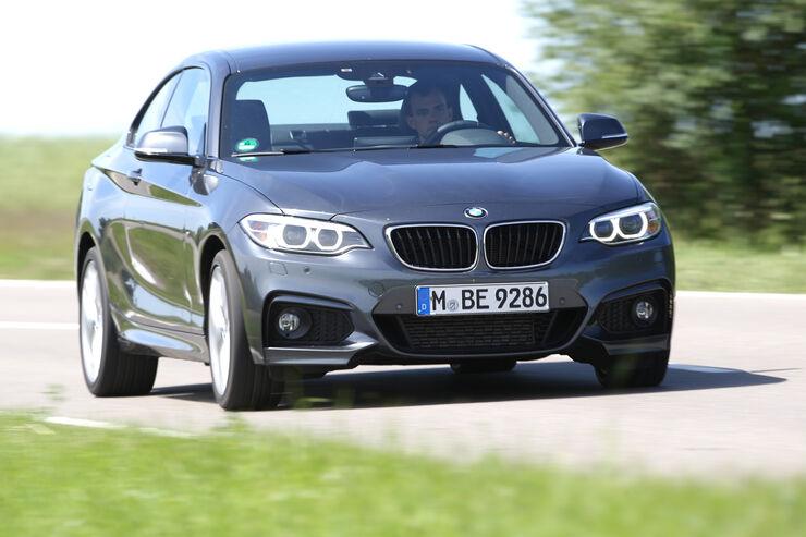 BMW 220d, Frontansicht