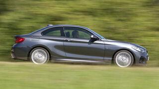 BMW 220d, Seitenansicht