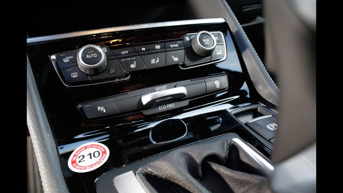 BMW 220i Active Tourer, Bedienelemente