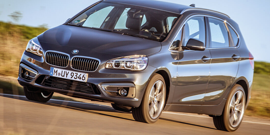 BMW 220i Active Tourer, Frontansicht