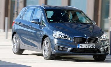 BMW 220i Active Tourer, Frontansicht