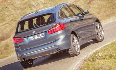 BMW 220i Active Tourer, Heckansicht