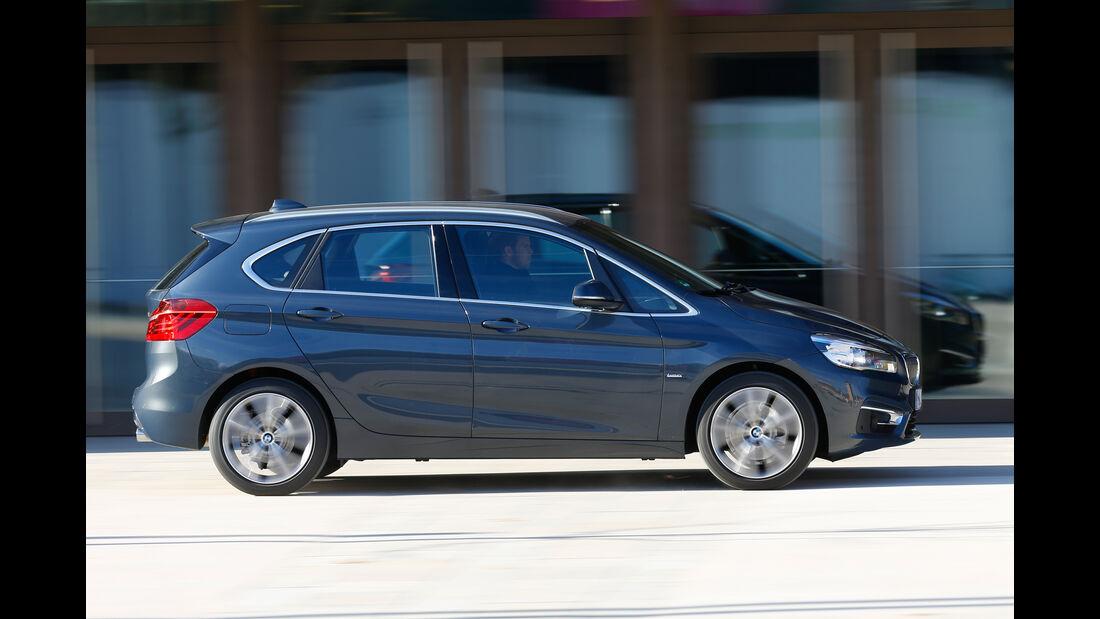 BMW 220i Active Tourer, Seitenansicht