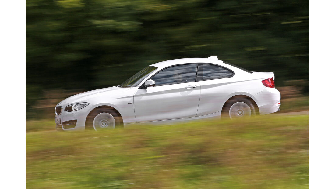 BMW 220i, Seitenansicht