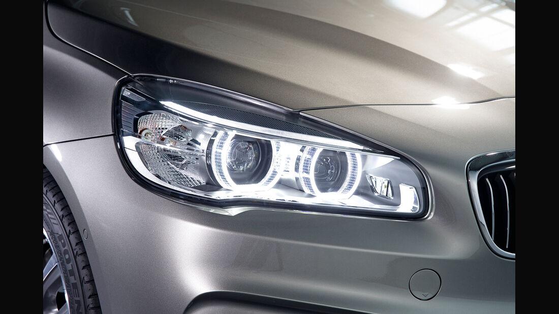 BMW 225i Active Tourer, Frontscheinwerfer