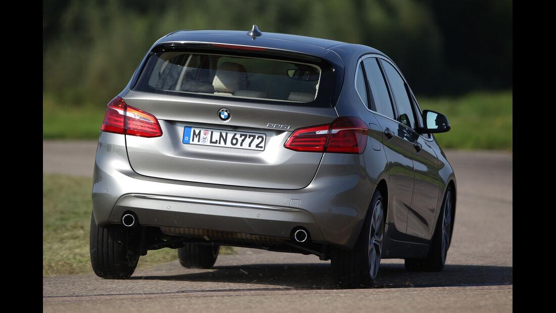 BMW 225i Active Tourer, Heckansicht