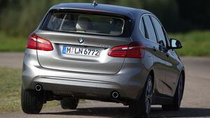 BMW 225i Active Tourer, Heckansicht