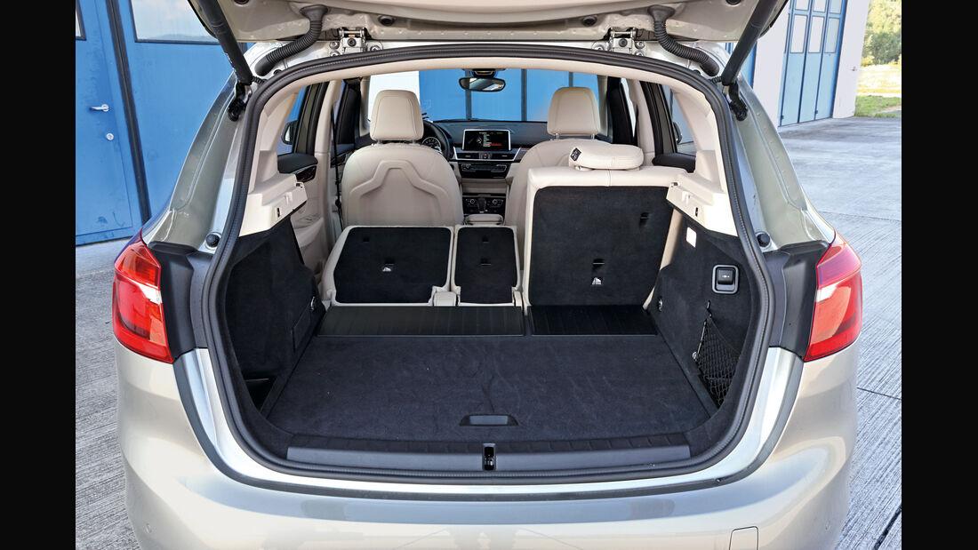 BMW 225i Active Tourer, Kofferraum, Ladefläche