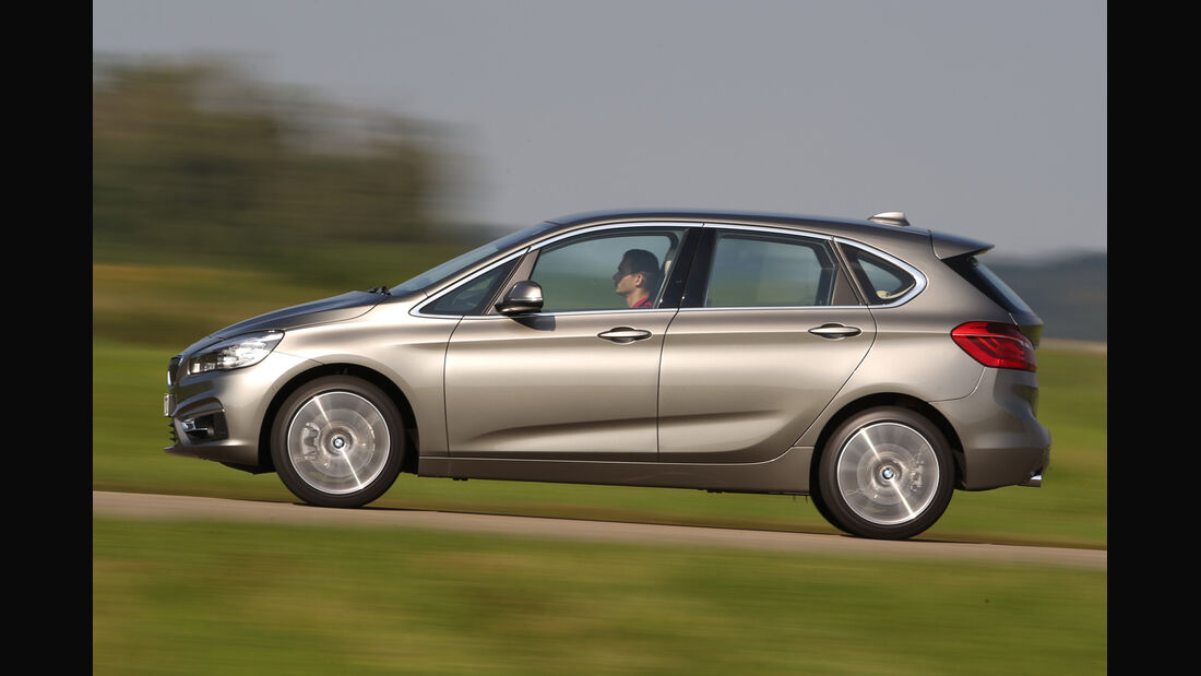 BMW 225i Active Tourer, Seitenansicht