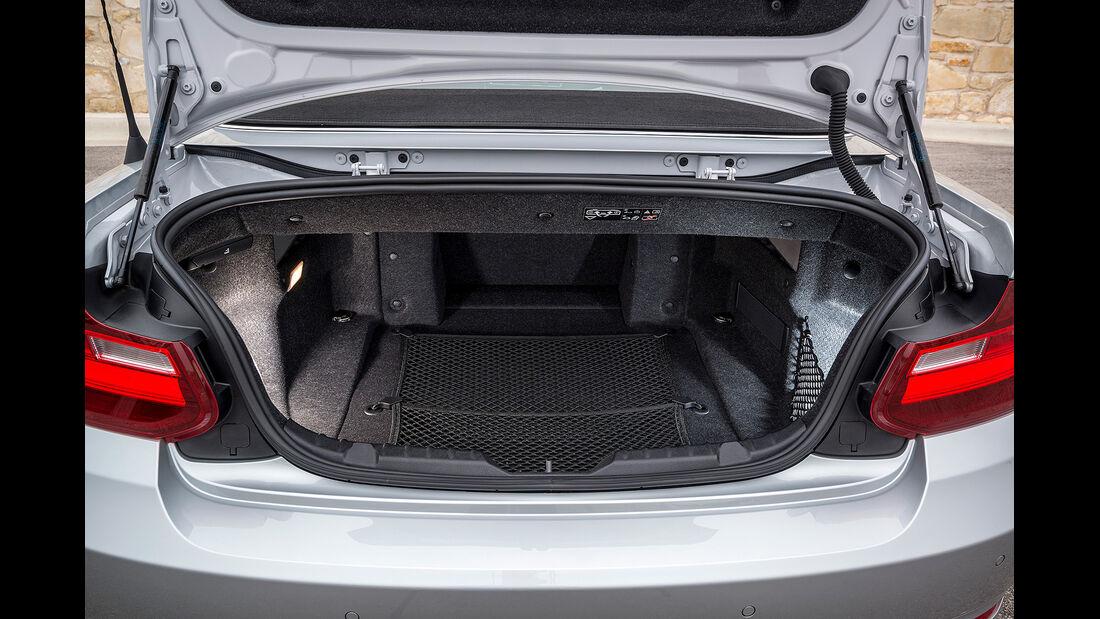 BMW 228i Cabrio, Kofferraum