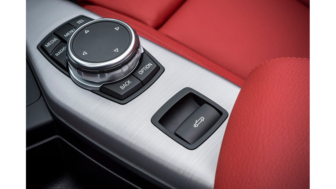BMW 228i Cabrio, Mittelkonsole, i-Drive