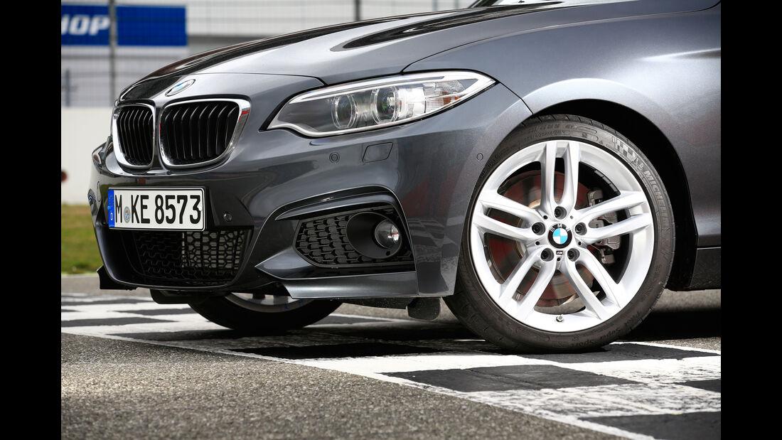 BMW 228i Coupé, Rad, Felge