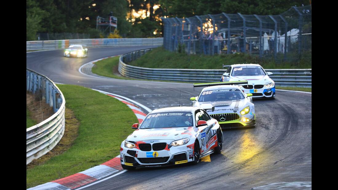 BMW 235i Racing - Startnummer #242 - 24h-Rennen Nürburgring 2017 - Nordschleife