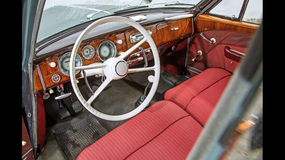 BMW 2600 L (Typ 502,V8), Cockpit