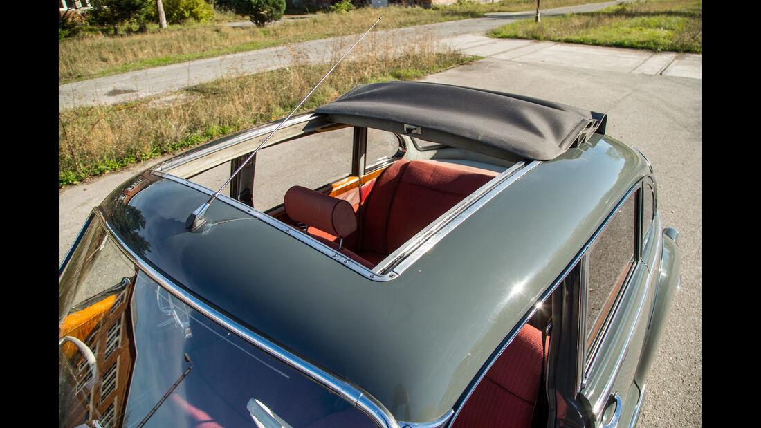 BMW 2600 L (Typ 502,V8), Dachfenster