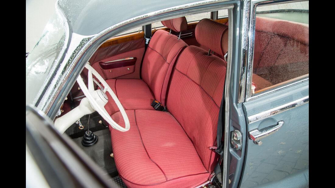 BMW 2600 L (Typ 502,V8), Fahrersitz