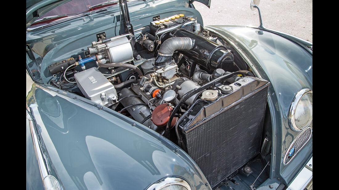 BMW 2600 L (Typ 502,V8), Motor