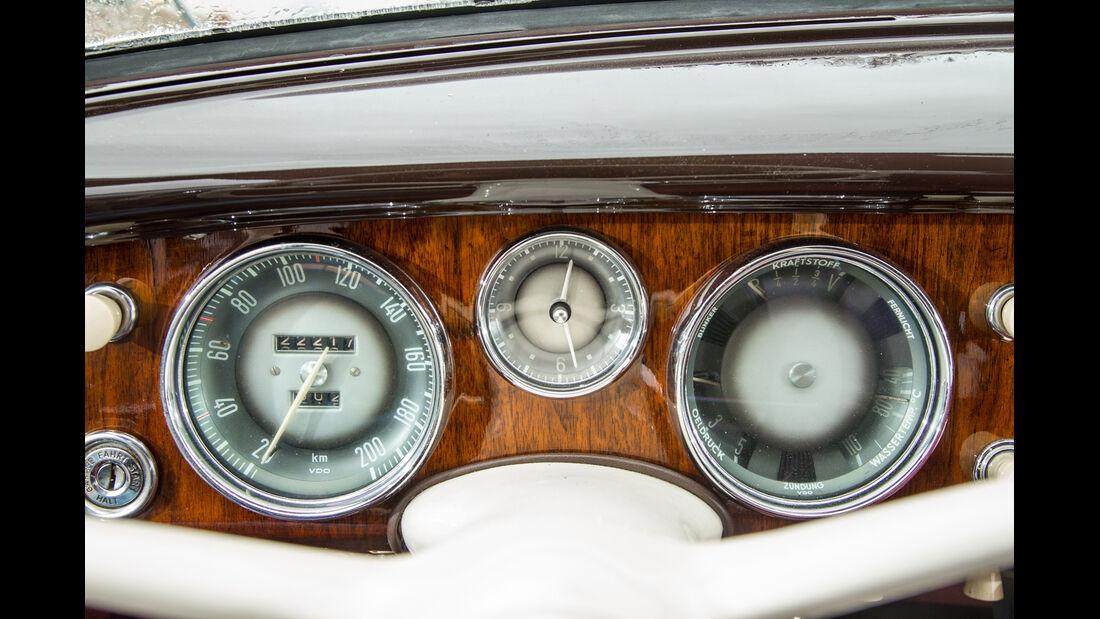BMW 2600 L (Typ 502,V8), Rundinstrumente