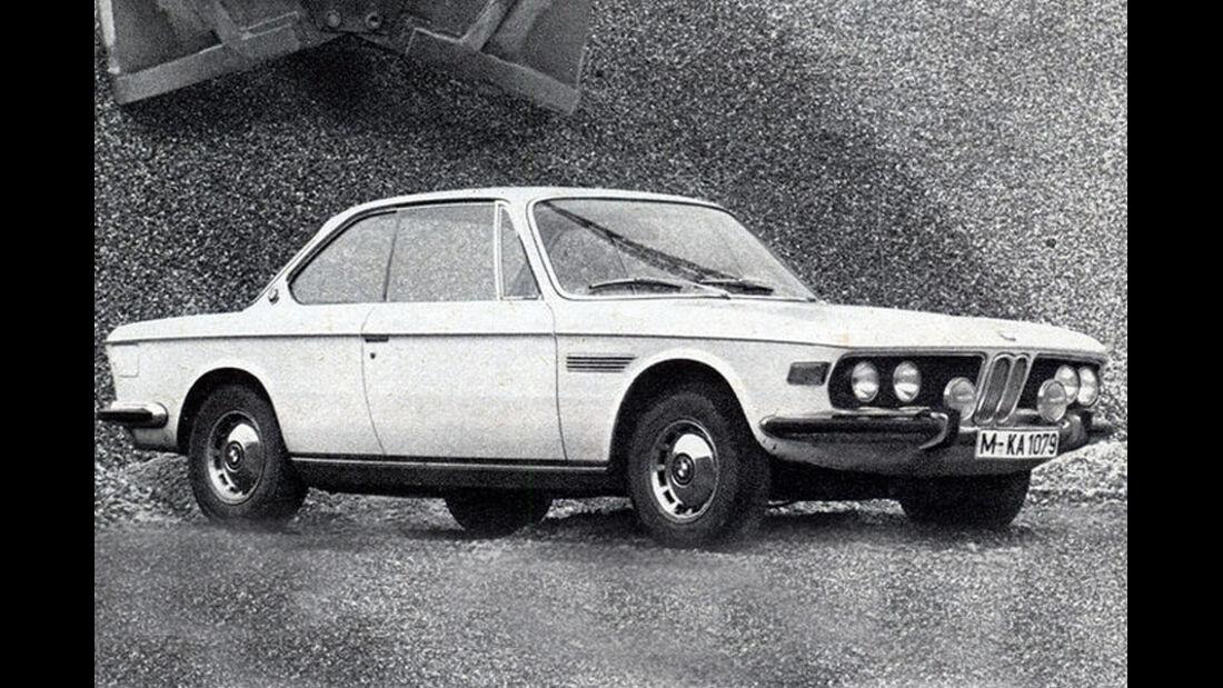 BMW, 2800 CS, Coupé, IAA 1969