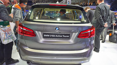 BMW 2er Active Tourer 218d, Genfer Autosalon, Messe, 2014