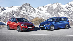 BMW 2er Active Tourer, BMW 2er Gran Tourer