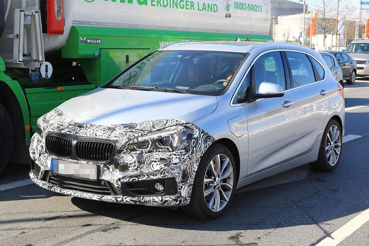BMW 2er Active Tourer Erlkönig