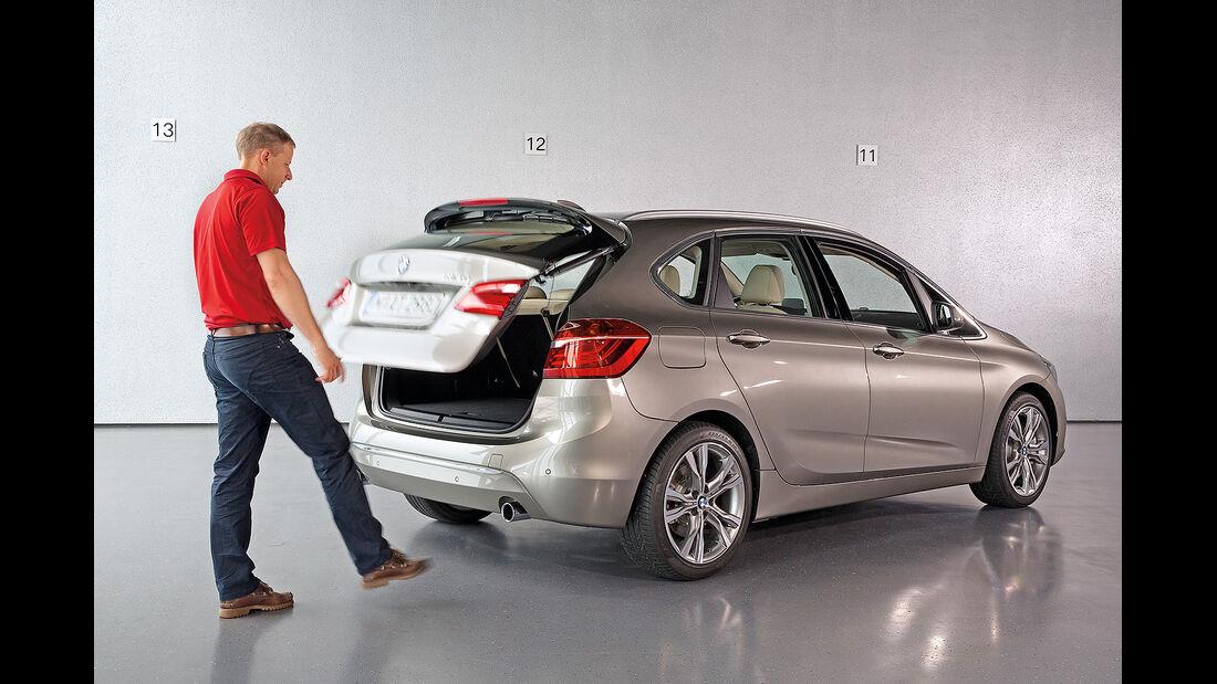 BMW 2er Active Tourer, Heckklappe elektrisch