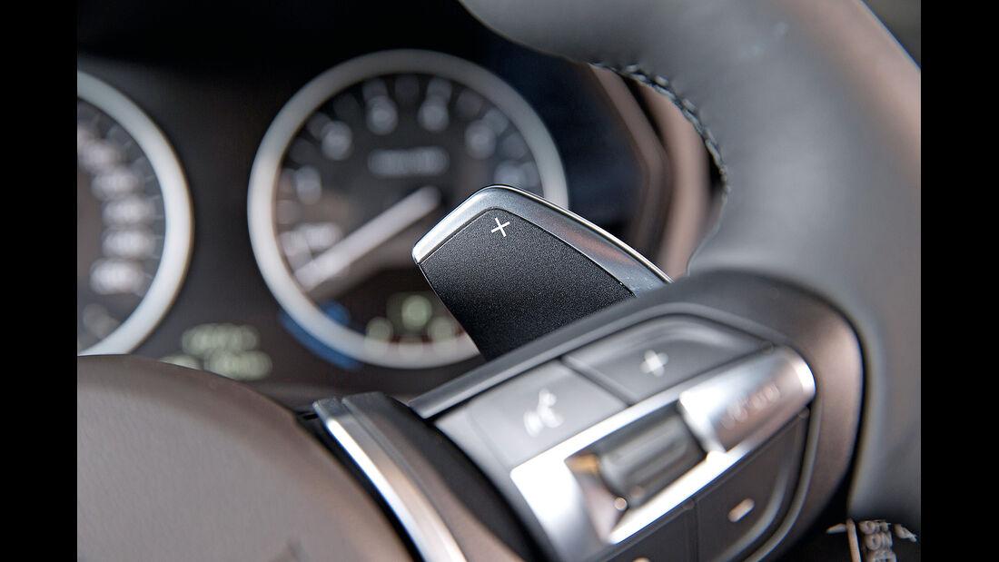BMW 2er Active Tourer, Schaltwippen