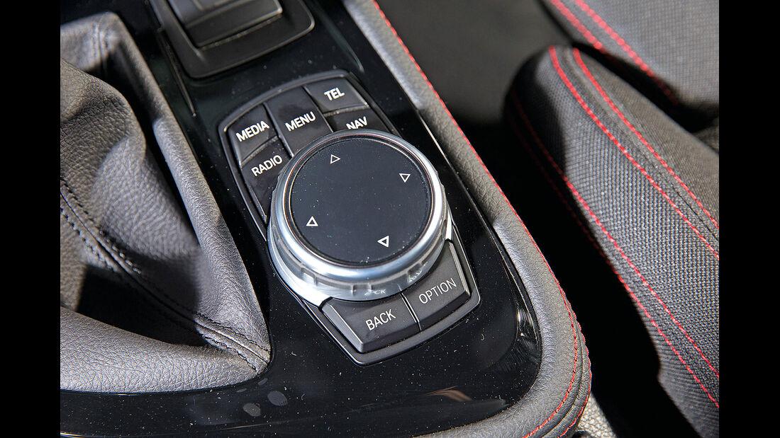 BMW 2er Active Tourer, iDrive-Controller