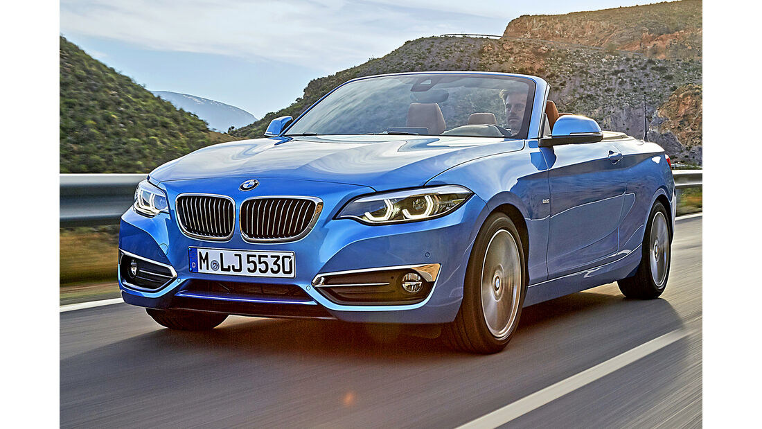 BMW 2er Cabrio, Best Cars 2020, Kategorie H Cabrios