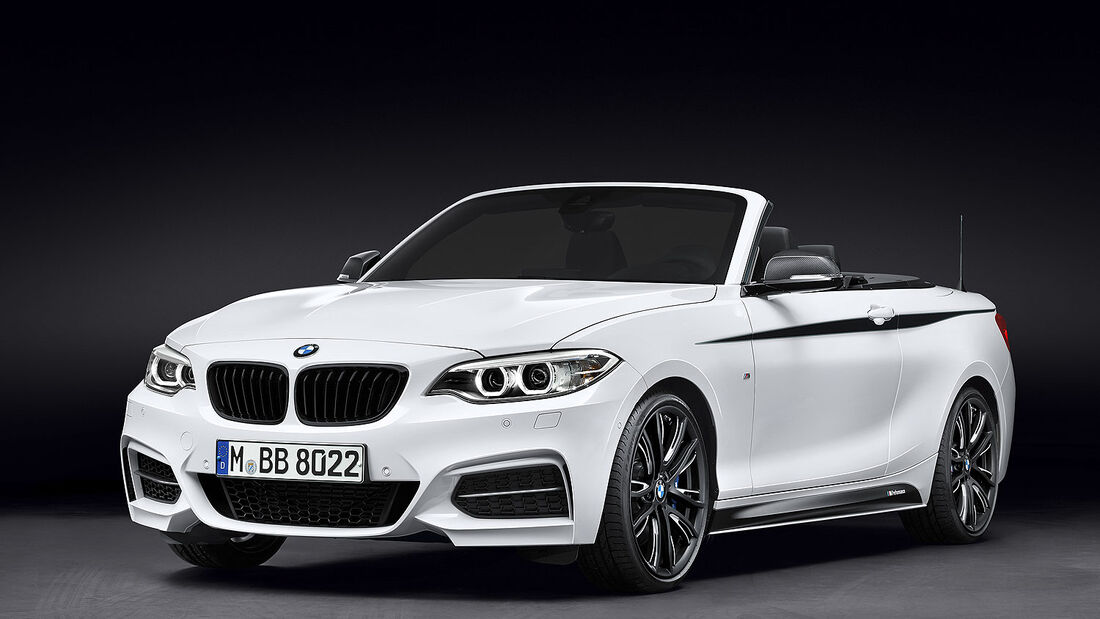 BMW 2er Cabrio M Performance Parts