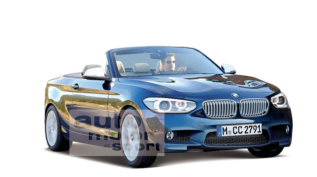 BMW 2er Cabrio, Retusche