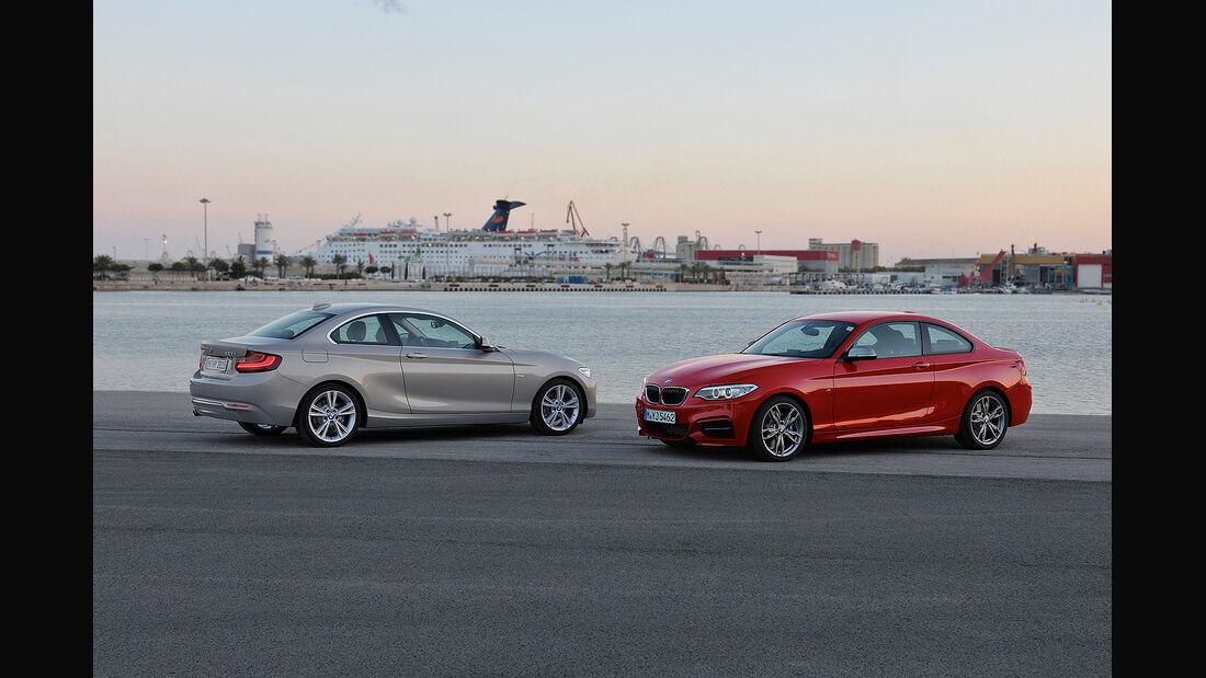 BMW 2er Coupé, 220d, M235i Coupé