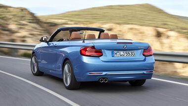 BMW 2er Coupé, BMW 2er Cabrio, Facelift