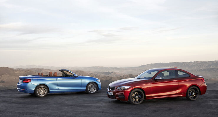 BMW 2er Coupé, BMW 2er Cabrio, Facelift