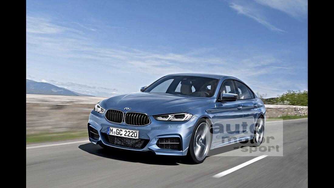 BMW 2er Gran Coupé Computer-Retusche