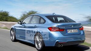 BMW 2er Gran Coupé Retusche