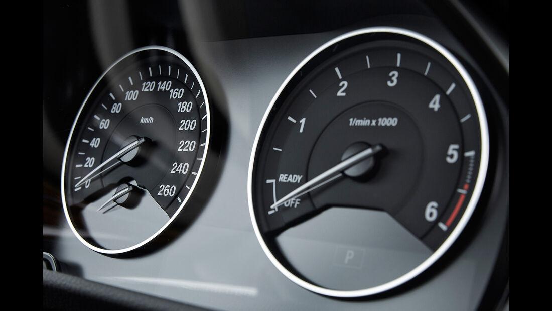 BMW 2er Gran Tourer, Instrumente