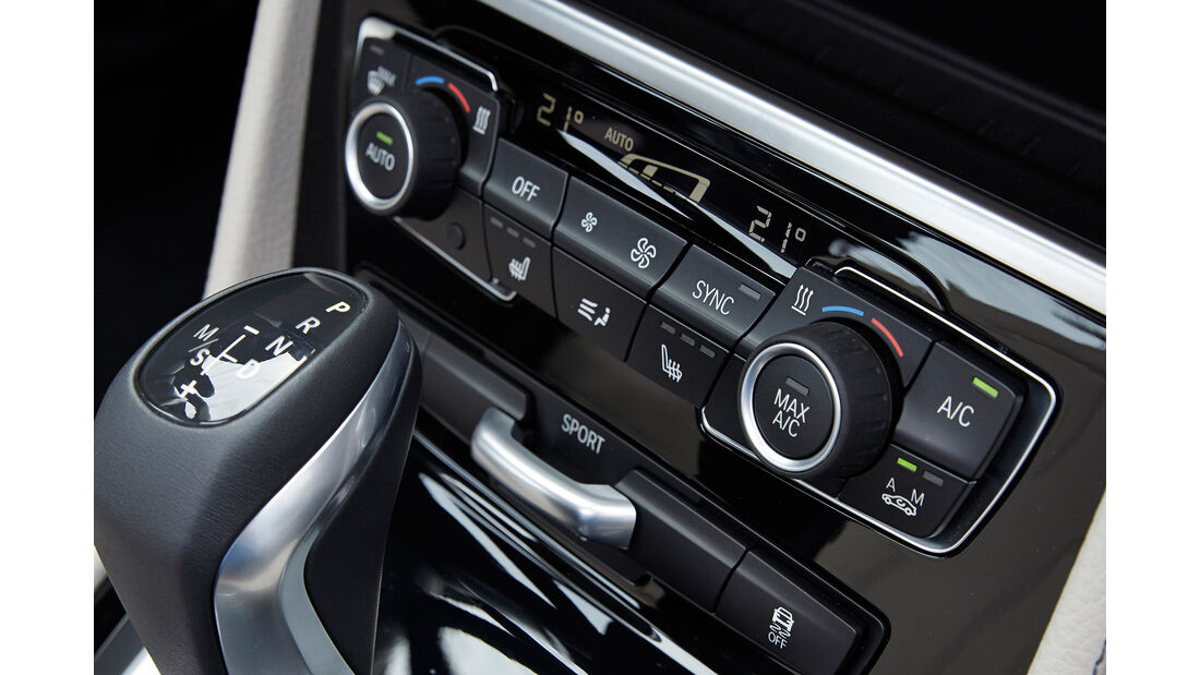 BMW 2er Gran Tourer, Klimaautomatik