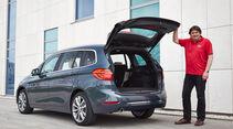 BMW 2er Gran Tourer, Kofferraum
