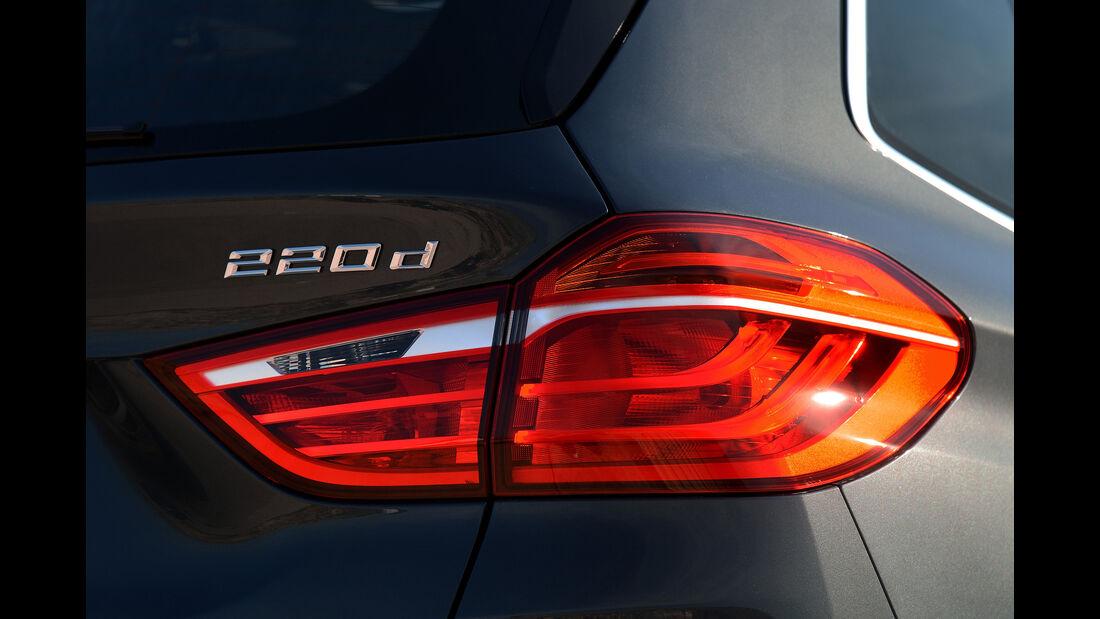 BMW 2er Gran Tourer, Rücklicht