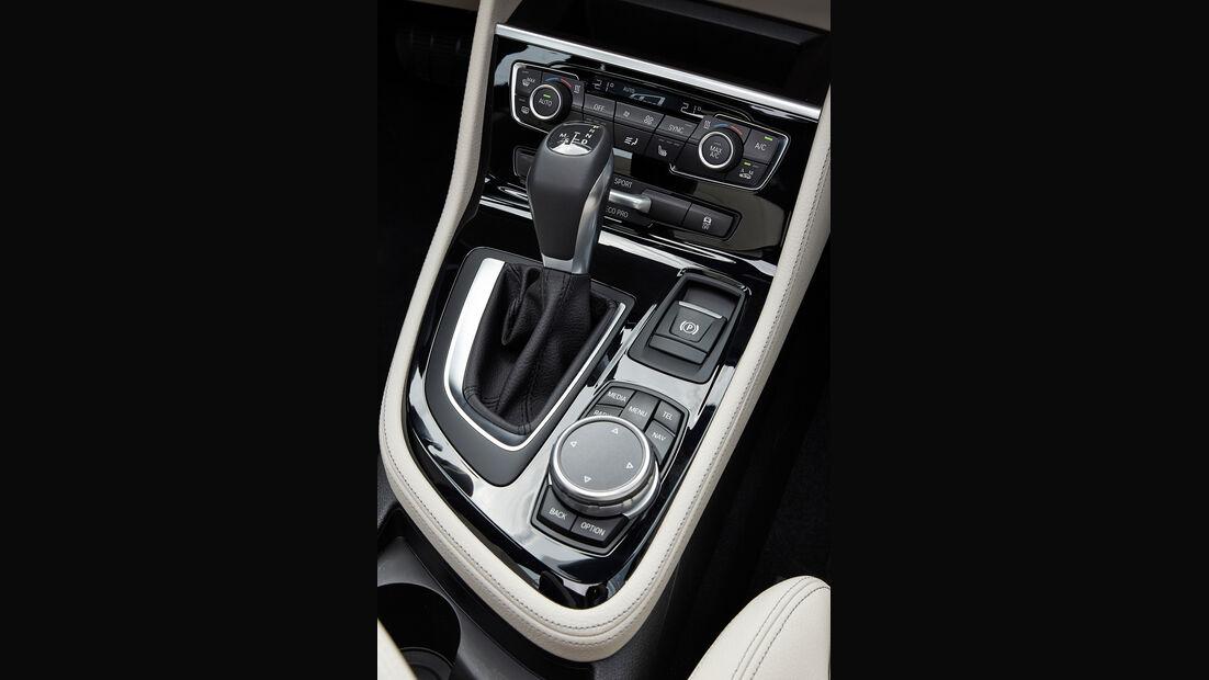 BMW 2er Gran Tourer, Schalthebel