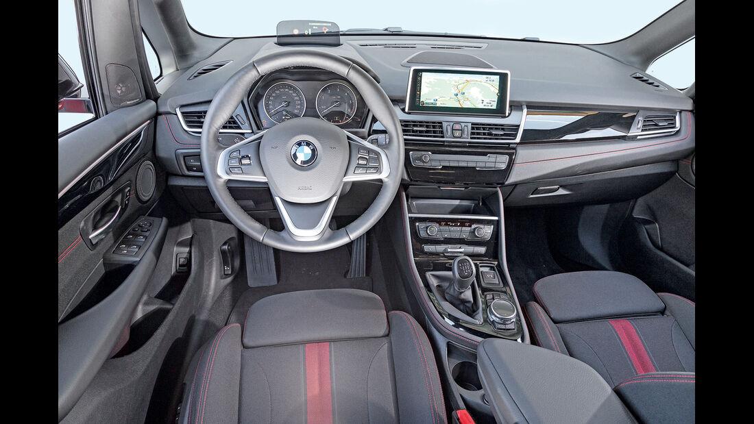 BMW 2er, asv2014, Cockpit