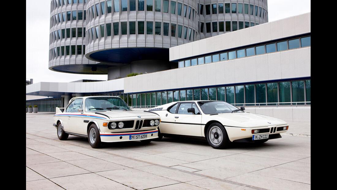 BMW 3.0 CSL & BMW M1
