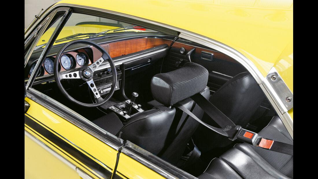 BMW 3.0 CSL, Cockpit